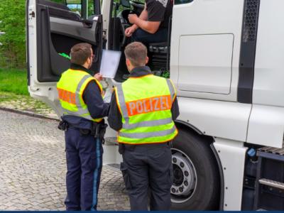 Немецкая полиция не церемонится с мошенниками. Залог в размере почти 20 тыс. евро за манипулирование тахографом