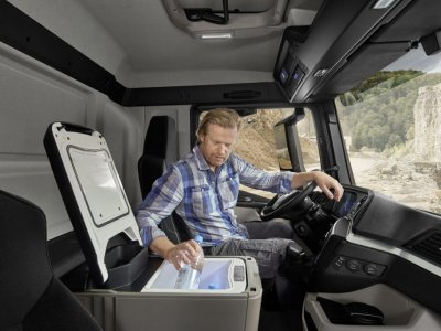 Внимание, контролируемая езда. Британцы проверяют, как видеонаблюдение в грузовиках влияет на стиль езды