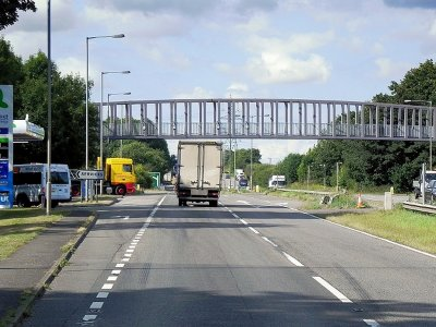 UK police report 41 traffic offences using unmarked lorry