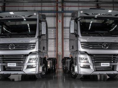 """""""Volkswagen"""" pristato naują sunkiasvorių transporto priemonių liniją. Tai didžiausias VW automobilis"""