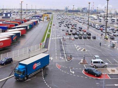 Streikas Kalė uoste. Sutrikdytas sunkvežimių eismas