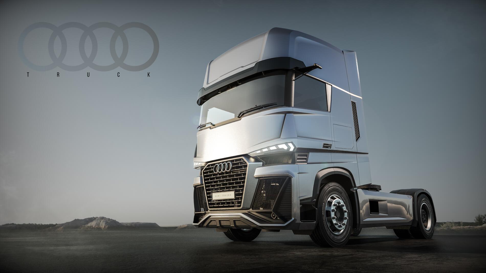 ciężarówka Audi