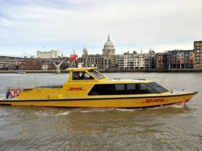 DHL Express setzt in London auf City-Logistik via Boot