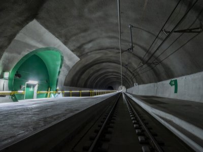 Project of the century ready for trial operation. First trains in the new railway tunnel through the Alps