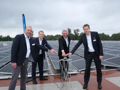 Startschuss für eine der größten Photovoltaikanlagen des Ruhrgebiets