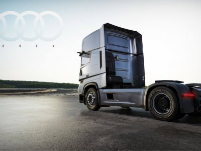 Am putea vedea curând un camion produs de Audi?