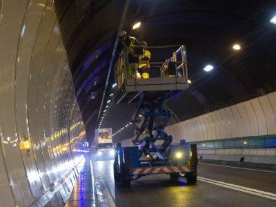 Monblano tunelio uždarymas. Pažiūrėkite, kada eismas bus sustabdytas
