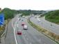 Eksperimentas Didžiosios Britanijos greitkeliuose. Tas pats leistinas greitis visoms transporto priemonėms