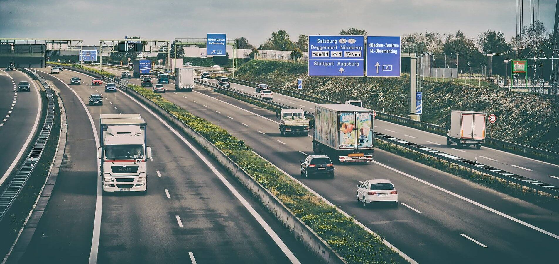 Truck bans in Germany in 2021