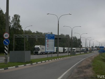 Strict checks in place at the Belarus/European Union border