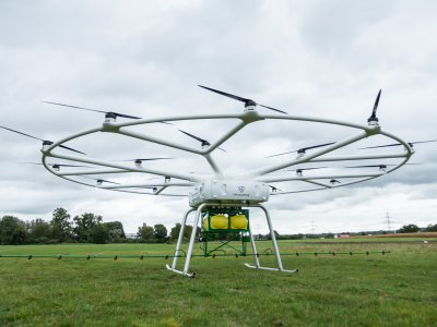DB Schenker to use heavy-lift drones from aviation start-up Volocopter