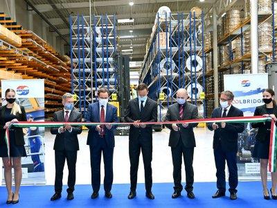 Ilyen a Güntner-Tata 65 ezer négyzetméteres, digitalizált logisztikai központja