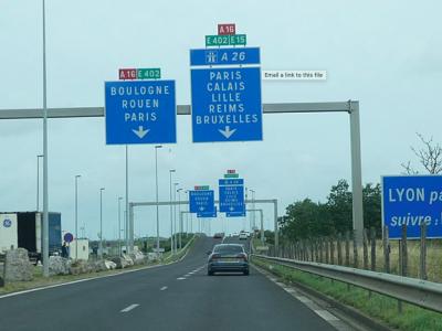 Útépítési munkák Calais irányába. Számítsanak fennakadásokra!