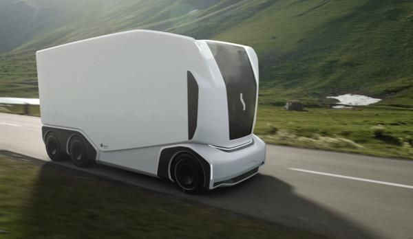 """Švedijos startuolis """"Einride"""" priima užsakymus autonominiams sunkvežimiams"""