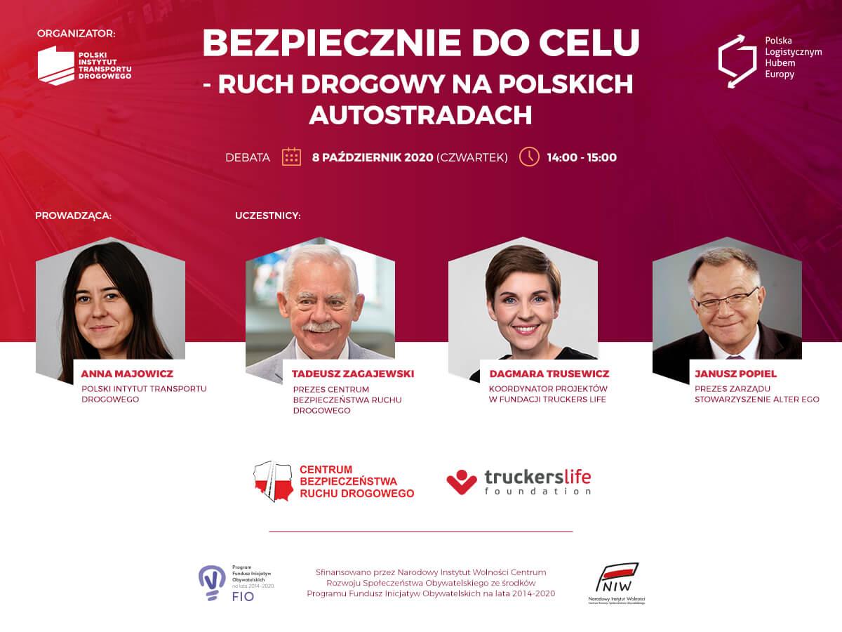 Ruch drogowy na polskich autostradach – jakie błędy najczęściej popełniamy? [DEBATA ONLINE]