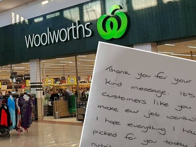 Online shopper deeply moved by delivery of hand-written note