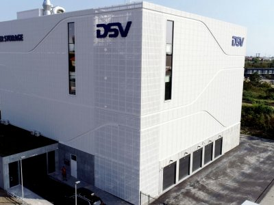 Naujas DSV sandėlis. Kitoks nei kiti, nes įmonė tiki šio rinkos segmento potencialu