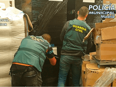 Spanish police take down gang responsible for looting multiple trucks
