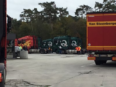 Belgien: Jeder dritte LKW musste umgeladen werden