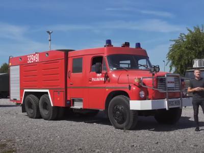 Służyła strażakom przez 22 lata, a na zasłużoną emeryturę trafiła do muzeum. Zobacz wyjątkowy egzemplarz Tatry 148