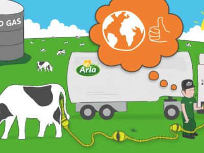 Hígtrágya a teherautók üzemanyagaként? Egy tejipari vállalat egy meglepő megoldást tesztel