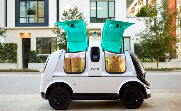 Are deliveries by small autonomous vehicles viable?