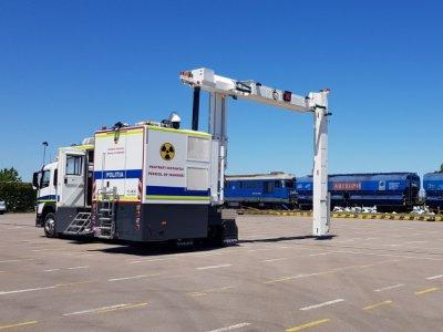 Noul sistem pentru scanarea camioanelor și containerelor în Portul Constanța va reduce timpul de verificare la câteva minute