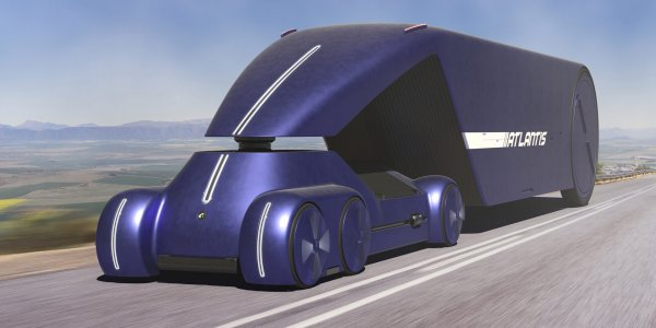 Przyszłość rosyjskiego transportu ciężarowego? Atlantis, nie Kamaz