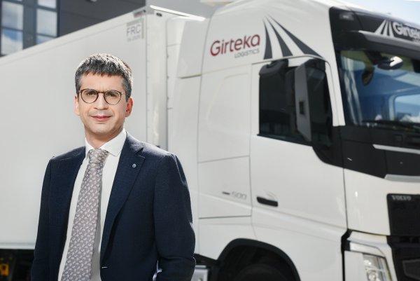 """[EXCLUSIV NUR BEI UNS] Edvardas Liachovičius, CEO von Girteka: """"Die Digitalisierung ist notwendig. S"""