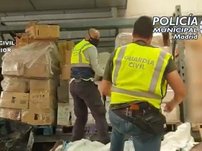 Infractori interceptați în Spania pentru furturi de marfă din camioane în valoare de jumătate de milion de euro