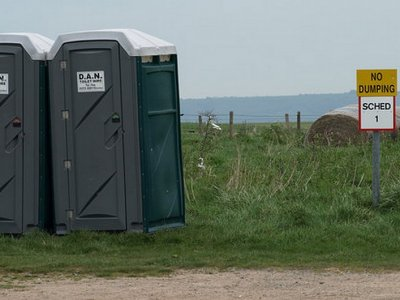 Portable toilets to be placed by Kent roads in anticipation of long queues