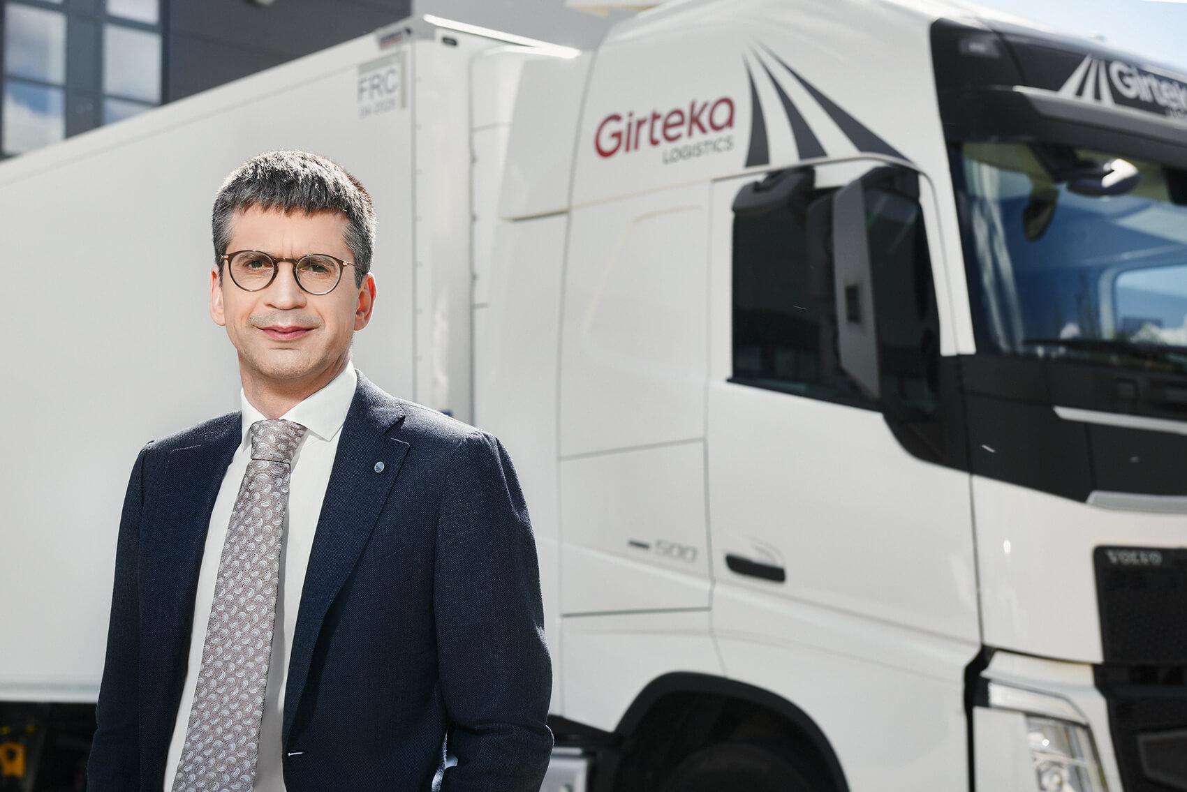 Tylko u nas: Wywiad z prezesem Girteka Logistics. Kulisy wdrożenia telematyki u największego przewoźnika w Europie