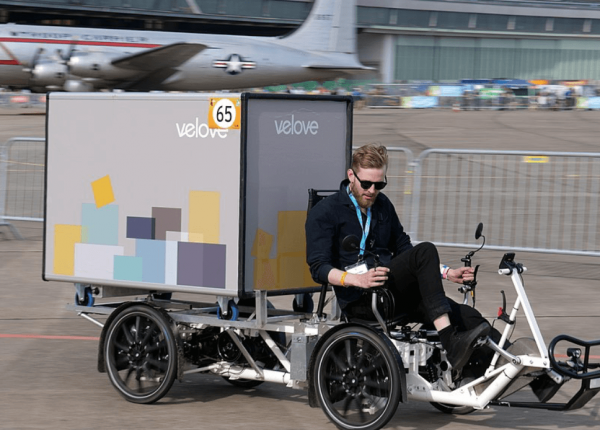 Cargo bikes in London are faster than delivery vans, report claims
