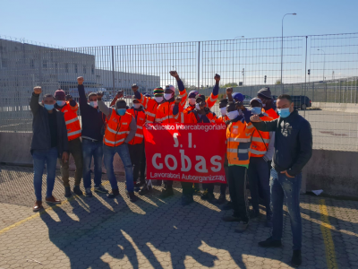 Italian motorway staff go on strike, with trade unions to protest tomorrow