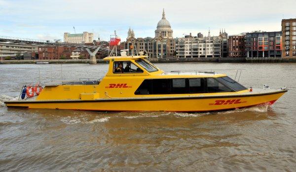 """Wcielili w życie pomysł rodem z """"Top Gear"""". Wodne dostawy do centrum Londynu"""