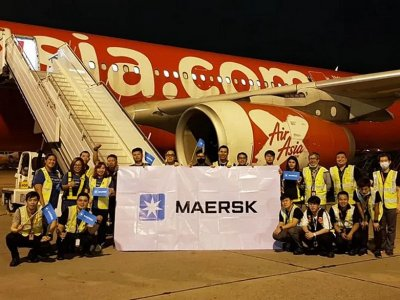 Maersk launch air freight services with Thailand-Japan flight