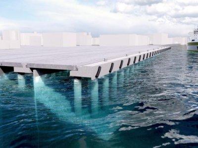 Începe modernizarea portului Sulina; vor creşte cantitățile de marfă operate