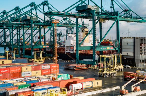 Nowości w porcie w Antwerpii. Dotyczą wydawania kontenerów oraz pomiaru emisji spalin z ciężarówek