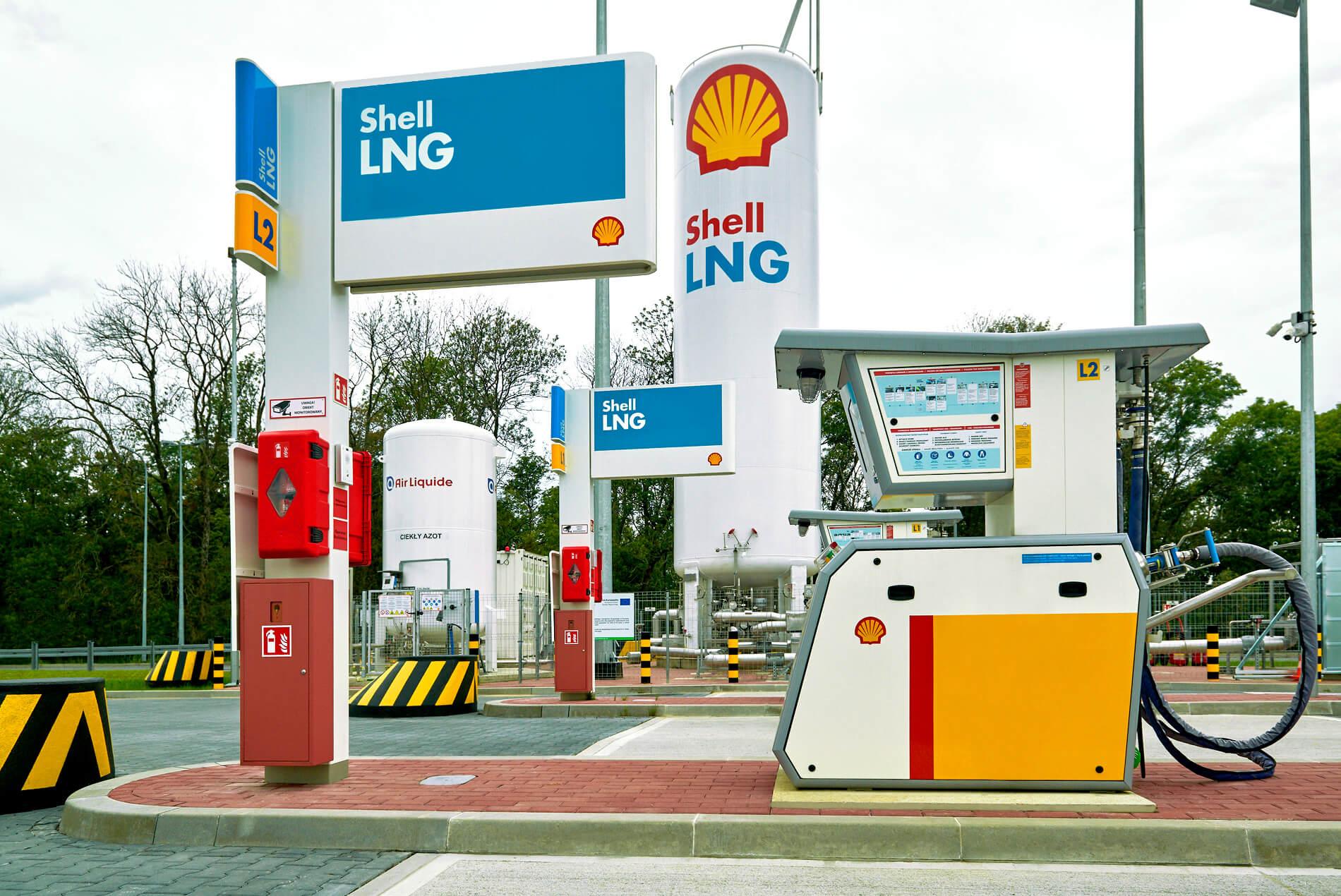 Nowa stacja dla ciężarówek na gaz. Zatankujesz w drodze do Niemiec i na Ukrainę