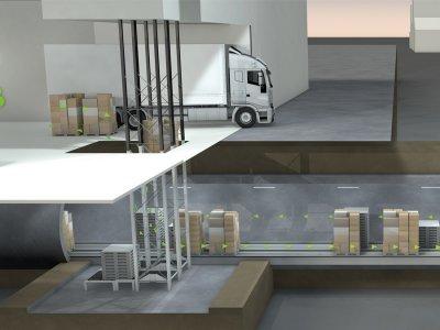 Немцы спроектировали подземную грузовую транспортную систему