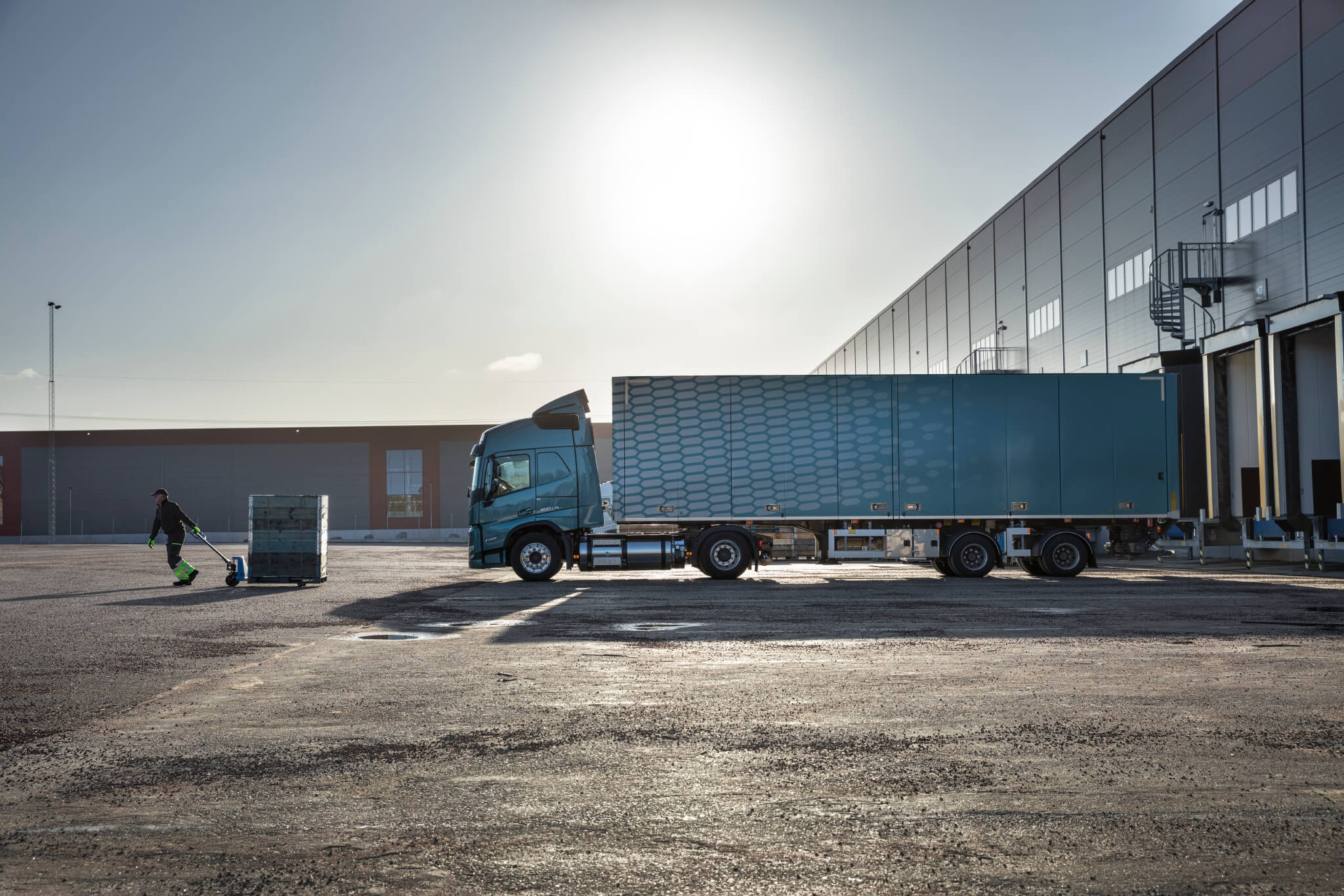 """Fuel cell trucks will """"change the business model we use,"""" says Volvo Trucks' innovations director"""