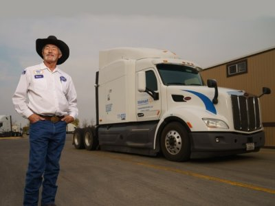 The US trucker who has driven the equivalent of the Moon and back 10 times – with no accident