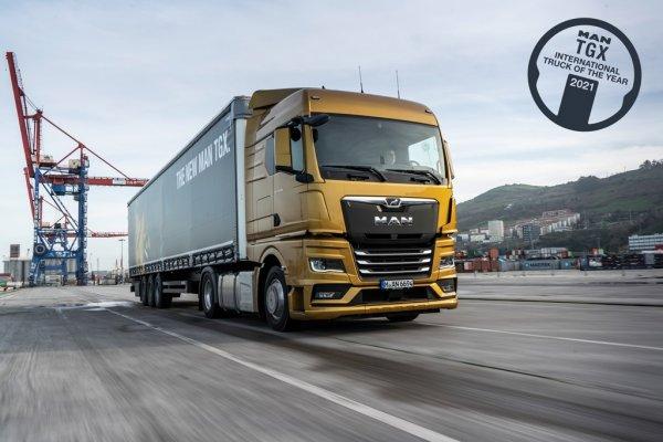MAN TGX wins International Truck of the Year 2021 award