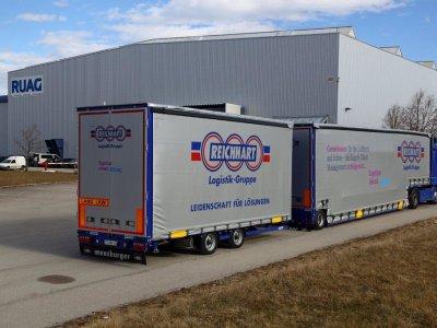 200 новых маршрутов для удлиненных грузовиков в Германии