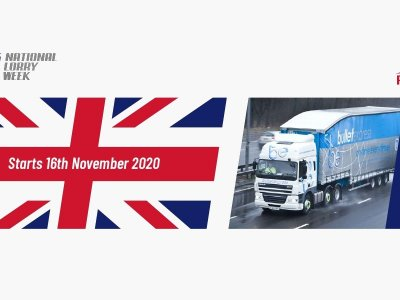 "National Lorry Week: ""Shine A Light"" for the logistics industry"