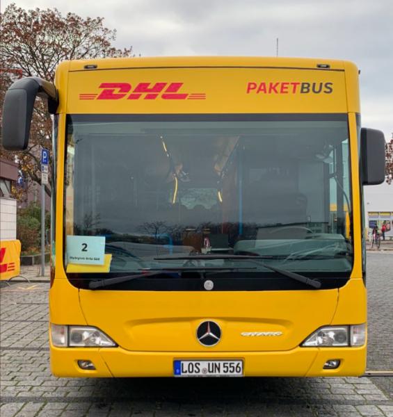 """Znana firma kurierska testuje w jednej z europejskich stolic """"autobusy paczkowe"""""""
