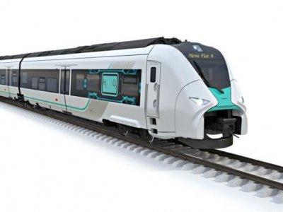 Vokietija išbandys naują vandeniliu varomą traukinį