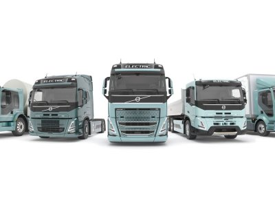 Volvo Trucks announce new electric models with a range of 300 km