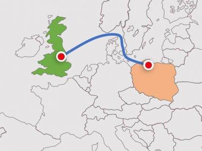 To może być alternatywa dla przewozów między Polską a Wielką Brytanią, gdy Brexit zakorkuje Eurotunel