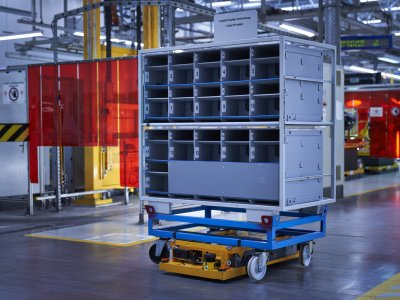 BMW Group gründet Unternehmen: IDEALworks GmbH entwickelt und vertreibt innovative Roboter und Steuerungssoftware für Logistiklösungen